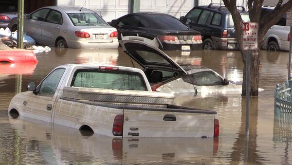 Наводнение в Сан-Хосе - Sputnik Латвия