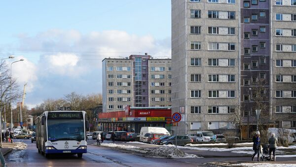 Улица Аугуста Домбровскиса в Вецмилгрависе - Sputnik Латвия
