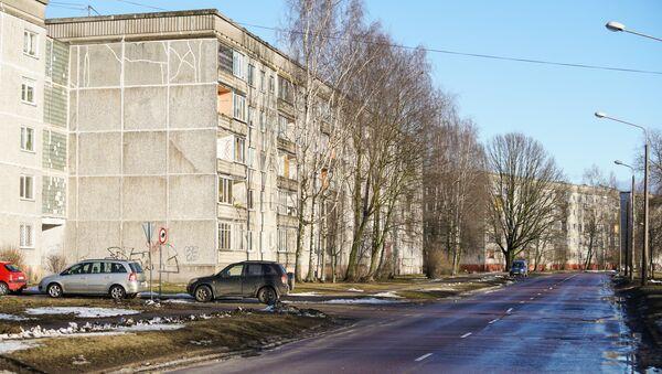 Пятиэтажная застройка района Вецмилгравис - Sputnik Латвия