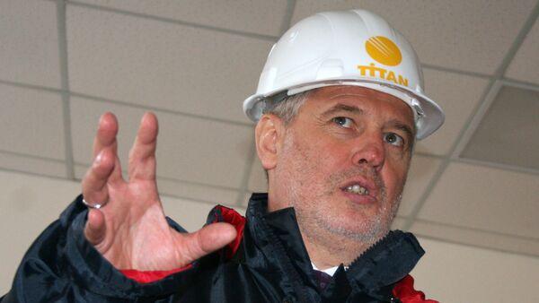 Holdinga Group DF direktoru padomes priekšsēdētājs Dmitrijs Firtašs - Sputnik Latvija
