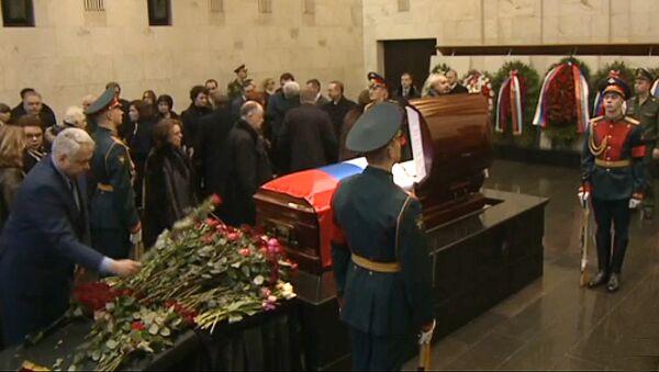 LIVE: Atvadu ceremonija no Krievijas pastāvīgā pārstāvja ANO Vitālija Čurkina - Sputnik Latvija