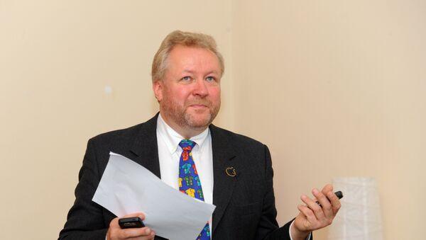 Руководитель рижского бюро Международной огранизации по миграции Илмар Межс - Sputnik Латвия
