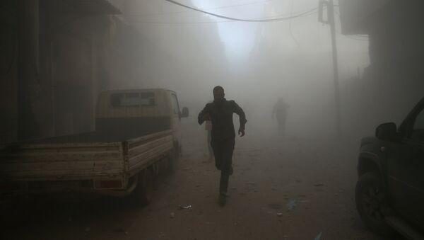 Situācija Damaskā, Sīrijā. Foto no arhīva - Sputnik Latvija
