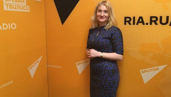 Психолог проекта Ты супер! Надежда Уффельман - Sputnik Латвия