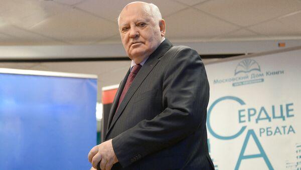 Экс-президент СССР Михаил Горбачев - Sputnik Латвия