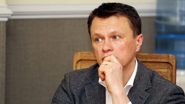 Представитель GlaxoSmithKline Latvia Валтс Аболс - Sputnik Латвия