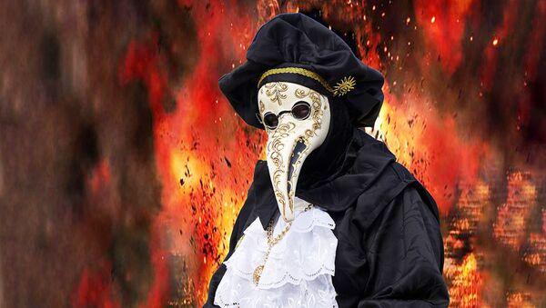 Карнавальная венецианская маска - Sputnik Латвия