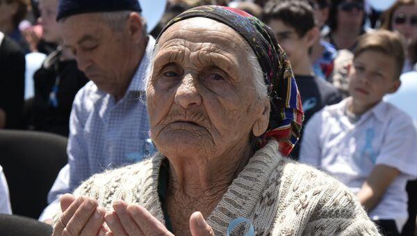 День памяти жертв депортации в Крыму - Sputnik Латвия