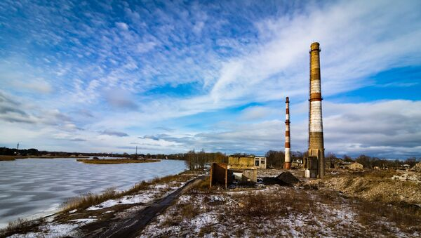 Развалины фабрики - Sputnik Латвия