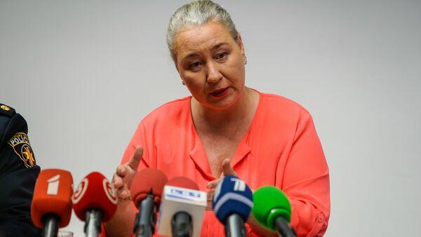 Руководитель государственной инспекции по защите прав детей Илона Кронберга - Sputnik Латвия