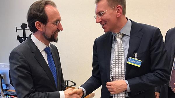 Визит министра иностранных дел Эдгарса Ринкевичса в Женеву - Sputnik Латвия