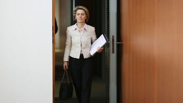 Глава Еврокомиссии Урсула фон дер Ляйен - Sputnik Latvija