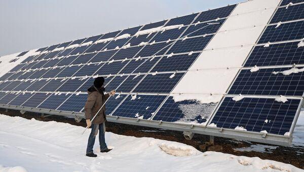 Saules elektrostacija - Sputnik Latvija