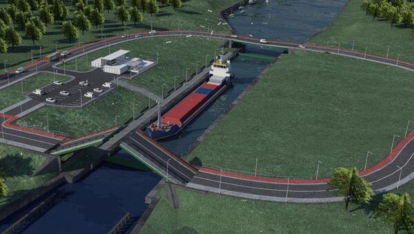 3D-проект канала через Балтийскую косу - Sputnik Латвия