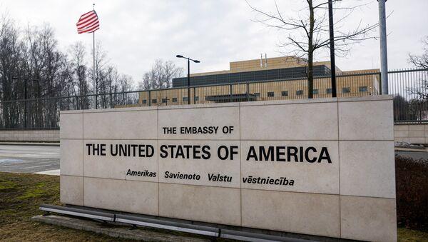 Посольства США в Латвии - Sputnik Латвия