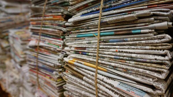 Стопка газет - Sputnik Латвия
