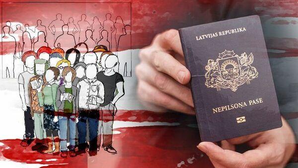 Неграждане Латвии - Sputnik Латвия