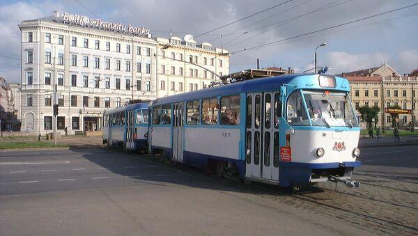 Рижский трамвай - Sputnik Латвия