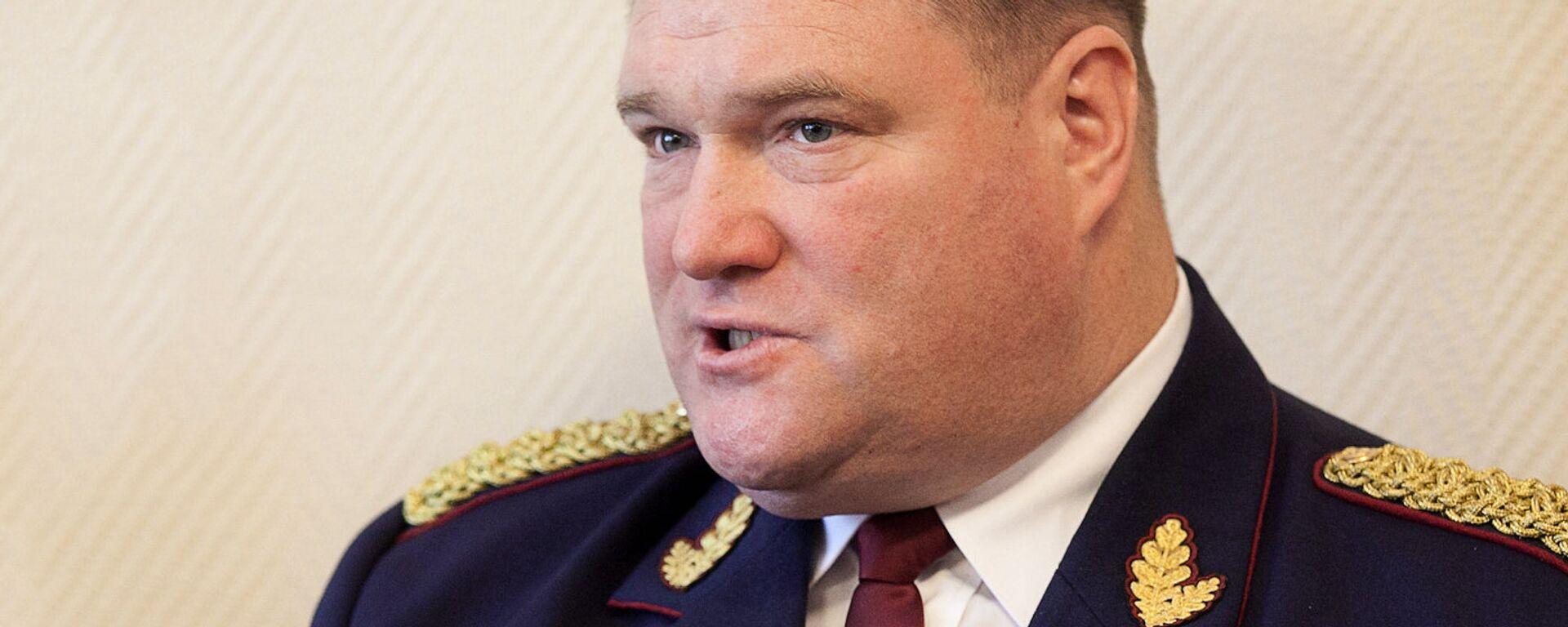 Начальник Госполиции Латвии Интс Кюзис - Sputnik Латвия, 1920, 22.09.2021