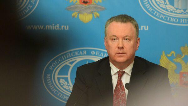 Официальный представитель МИД России А.Лукашевич - Sputnik Латвия