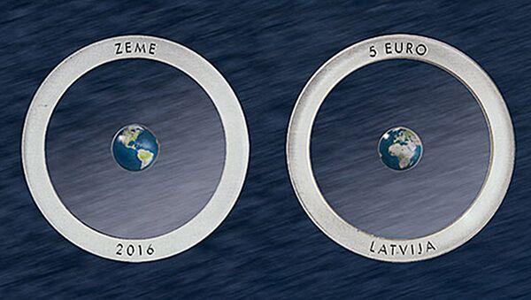 Latvijas Banka laidusi klajā monētu - Sputnik Latvija