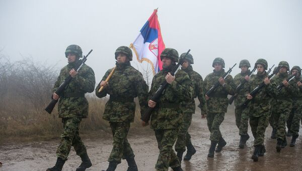 Serbijas karavīri. Foto no arhīva - Sputnik Latvija