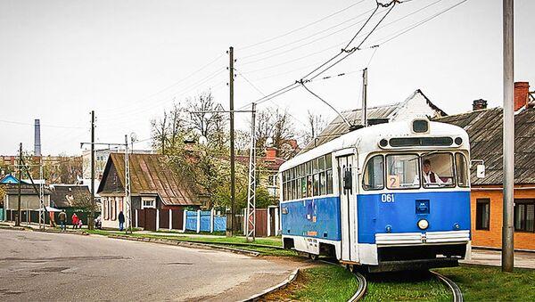 Даугавпилс, трамвай - Sputnik Латвия