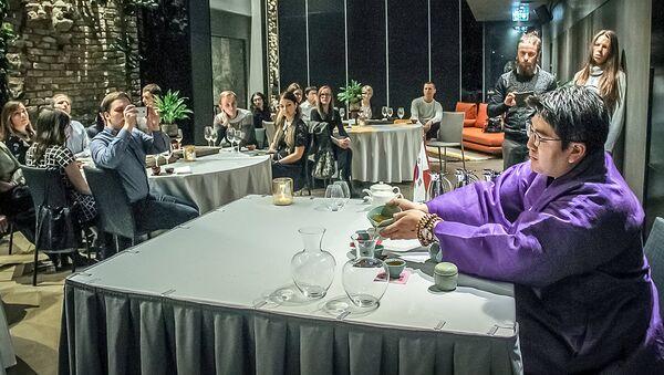 Чайная церемония в клубе Pullman - Sputnik Латвия