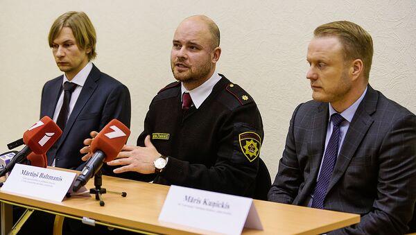 Пресс-конференция на Рижской ГЭС - Sputnik Латвия
