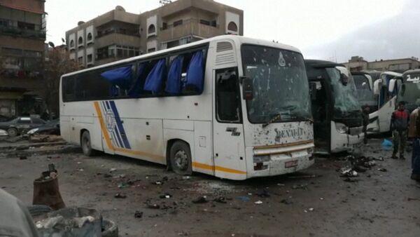 Теракт в Дамаске вблизи кладбища Баб ас-Сагир - Sputnik Латвия