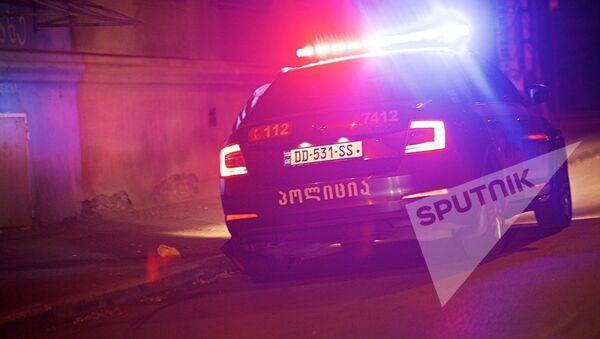 Автомобиль патрульной полиции в Грузии - Sputnik Latvija