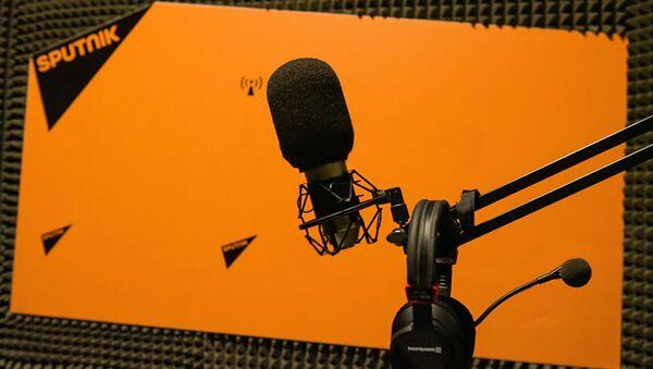 В студии радио Sputnik - Sputnik Latvija