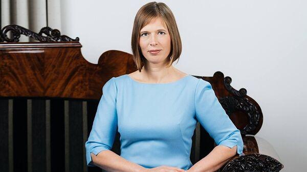 Президент Эстонской Республики Керсти Кальюлайд - Sputnik Латвия