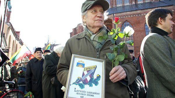 Мероприятия Дня легионеров в Риге 16 марта 2017 года - Sputnik Latvija