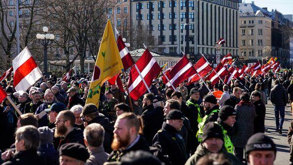 Leģionāru dienas pasākumi Rīgā 2017. gada 16. martā - Sputnik Latvija