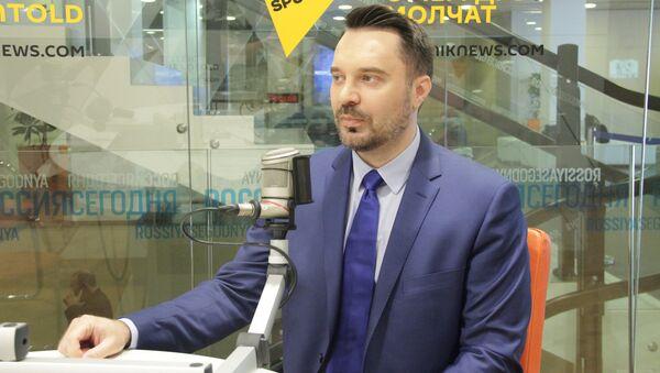 В студии Sputnik политолог Руслан Осташко - Sputnik Латвия
