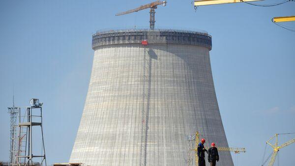 Строительство Белорусской АЭС - Sputnik Латвия