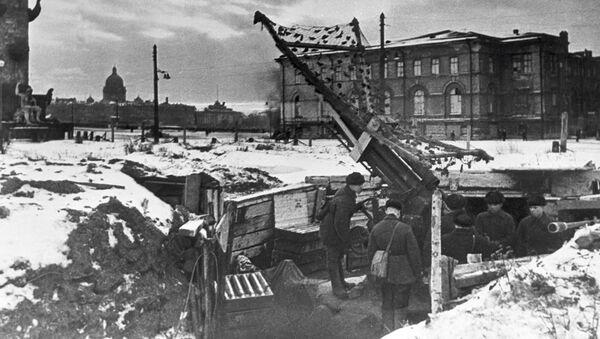 Оборона блокадного Ленинграда - Sputnik Латвия