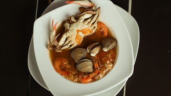 Суп с морепродуктами - Sputnik Latvija