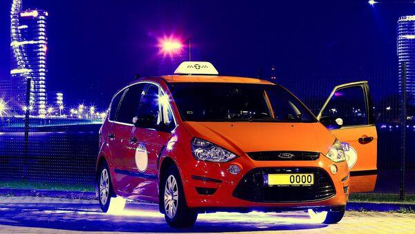 Такси на рижской набережной - Sputnik Латвия