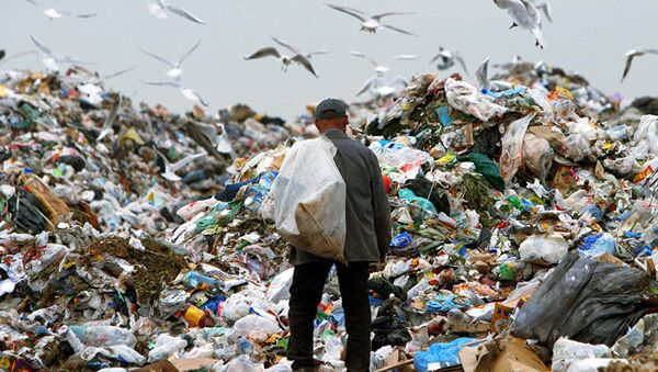 Полигон промышленных отходов - Sputnik Латвия