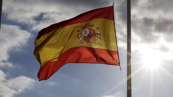 Флаг Испании - Sputnik Latvija