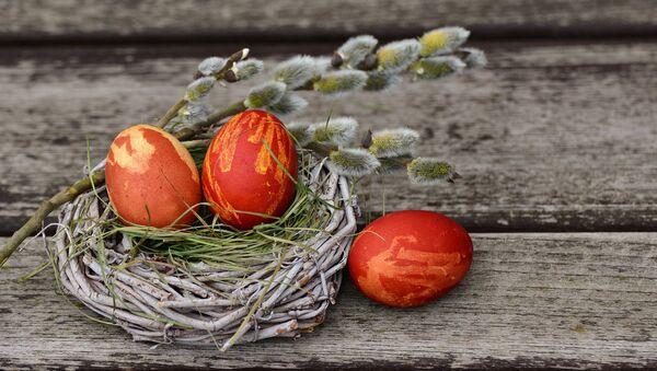Пасхальные яйца - Sputnik Latvija