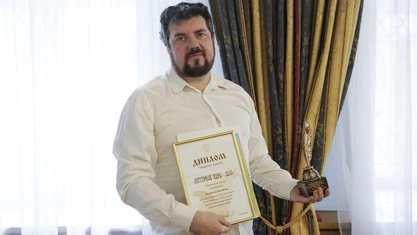 Корреспондент Sputnik Владимир Дорофеев. - Sputnik Latvija