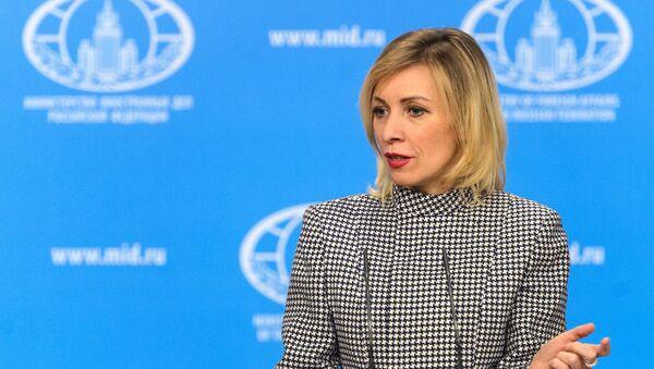 Официальный представитель министерства иностранных дел России Мария Захарова - Sputnik Латвия