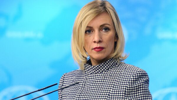 Krievias ĀM oficiālā pārstāve Marija Zaharova - Sputnik Latvija