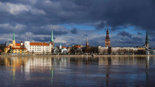 Вид на Старую Ригу со стороны Пардаугавы - Sputnik Латвия