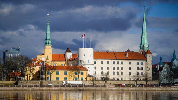 Рижский замок, резиденция президента Латвии - Sputnik Latvija