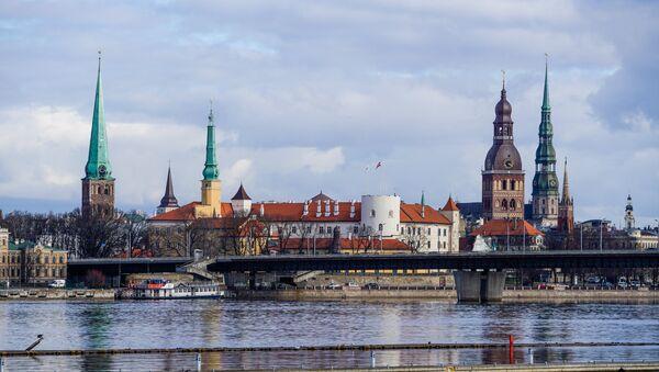 Вид Старой Риги со стороны Пардаугавы - Sputnik Латвия