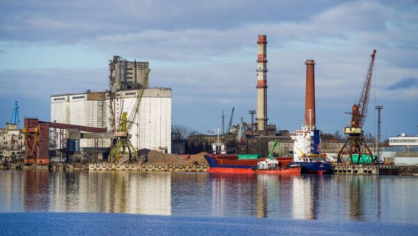 Рижский свободный порт - Sputnik Латвия